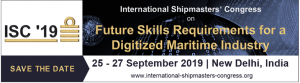The 1st International Shipmasters' Congress ISC '19